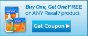 Rexall Buy One Get One Free Coupon - Click Here